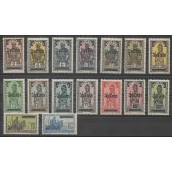 Côte d'Ivoire - 1933 - No 88/103 - Neuf avec charnière
