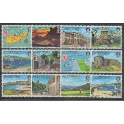 Aurigny (Alderney) - 1983 - Nb 1/12 - Sights