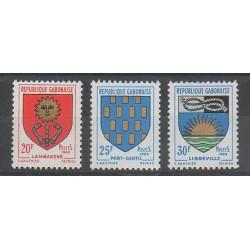 Gabon - 1969 - Nb 252/254 - Coats of arms