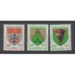 Gabon - 1971 - Nb 266/268 - Coats of arms