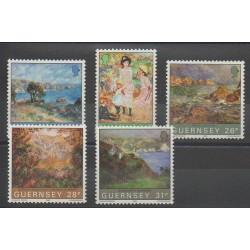 Guernesey - 1983 - No 271/275 - Peinture