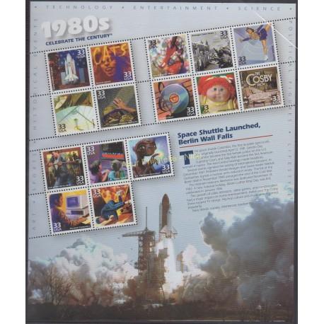 United States - 2000 - Nb 3013/3027 - History