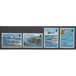 Guernsey - 1988 - Nb 428/431 - Various sports