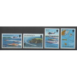Guernesey - 1988 - No 428/431 - Sports divers