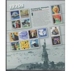 États-Unis - 1999 - No 2983/2997 - Histoire