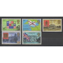 Jersey - 1976 - No 142/146 - Armoiries