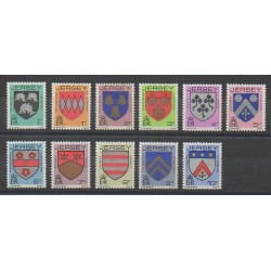 Jersey - 1981 - Nb 236/246 - Coats of arms