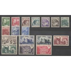 Tunisia - 1954 - Nb 366/382