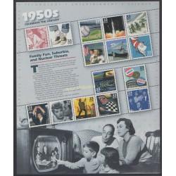 États-Unis - 1999 - No 2892/2906 - Histoire