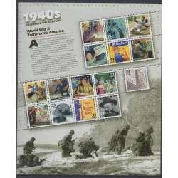 États-Unis - 1999 - No 2838/2852 - Histoire