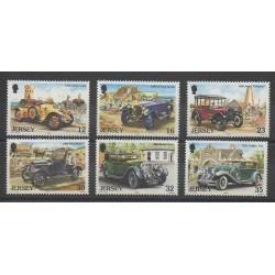 Jersey - 1989 - Nb 451/456 - Cars