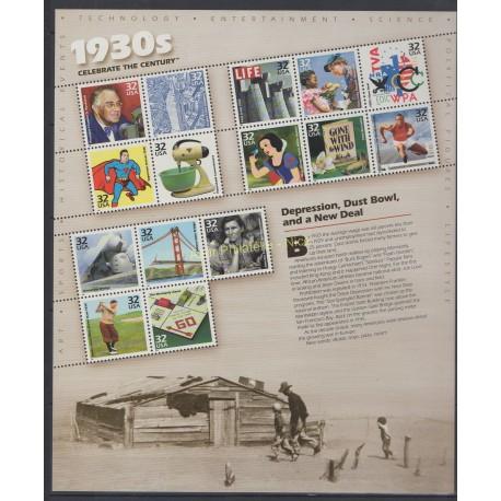 United States - 1998 - Nb 2795/2809 - History