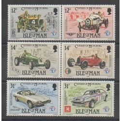Man (Isle of) - 1985 - Nb 277/282 - Cars