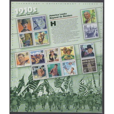 États-Unis - 1998 - No 2695/2709 - Histoire