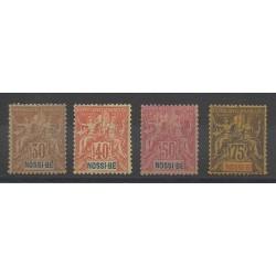 Nossi-Bé - 1894 - No 35/38 - Neuf avec charnière