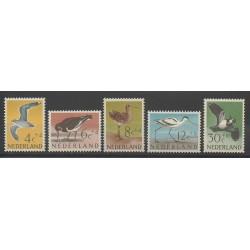 Pays-Bas - 1961 - No 733/737 - Oiseaux