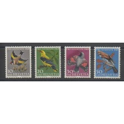 Suisse - 1969 - No 846/849 - Oiseaux