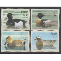 Irlande - 2004 - No 1584/1587 - Oiseaux