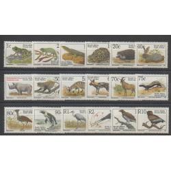Afrique du Sud - 1993 - No 807/824 - Animaux