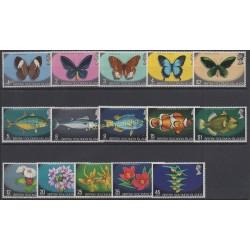 Solomon (Islands) - 1972 - Nb 213/227 - Butterflies