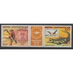 Centrafricaine (République) - 1978 - No PA196A - Timbres sur timbres