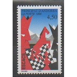 Andorre - 1996 - No 477 - Échecs