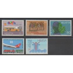 Suisse - 1987 - No 1269/1273
