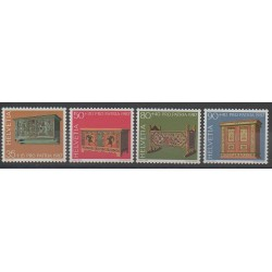Suisse - 1987 - No 1276/1279 - Art