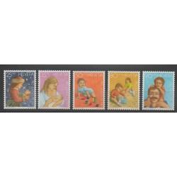 Suisse - 1987 - No 1288/1292 - Enfance