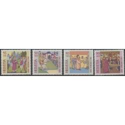 Suisse - 1989 - No 1319/1322