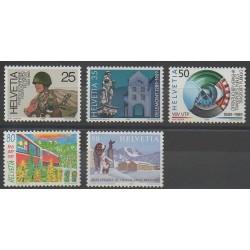 Suisse - 1989 - No 1314/1318