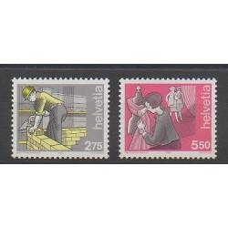 Suisse - 1989 - No 1325/1326