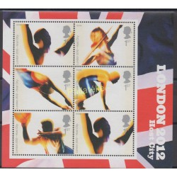 Stamps - Theme summer olympics - Great Britain - 2005 - Nb BF 33