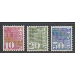 Suisse - 1987 - No 861a - 862a - 863c