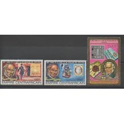 Centrafricaine (République) - 1978 - No PA197/PA199 - Timbres sur timbres