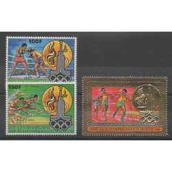 Central African Republic - 1980 - Nb PA224/PA226 - Summer Olympics