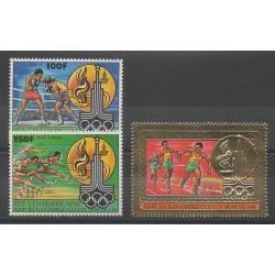 Centrafricaine (République) - 1980 - No PA224/PA226 - Jeux Olympiques d'été