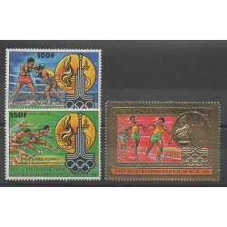 Central African Republic - 1981 - Nb PA237/PA239 - Summer Olympics
