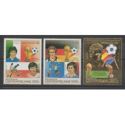 Central African Republic - 1983 - Nb PA285/PA287 - Soccer World Cup