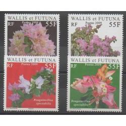 Wallis et Futuna - 2009 - No 713/716 - Fleurs