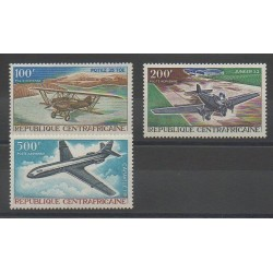Central African Republic - 1967 - Nb PA50/PA52 - Planes