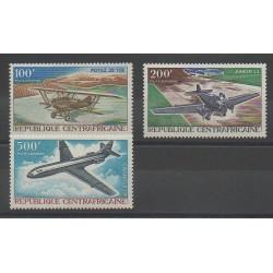 Centrafricaine (République) - 1967 - No PA50/PA52 - Avions