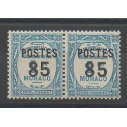 Monaco - Varieties - 1937 - Nb 149a - Mint hinged