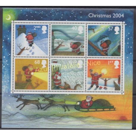 Grande-Bretagne - 2004 - No BF 27 - Noël
