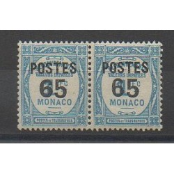 Monaco - Varieties - 1937 - Nb 148a - Mint hinged