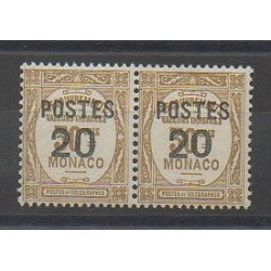 Monaco - Varieties - 1937 - Nb 143a - Mint hinged