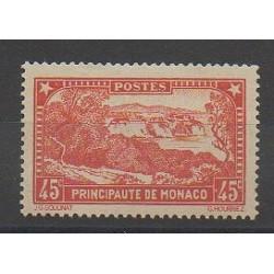 Monaco - Varieties - 1933 - Nb 123a