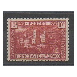 Monaco - Varieties - 1922 - Nb 64a - Mint hinged