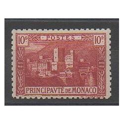 Monaco - Variétés - 1922 - No 64a - Neuf avec charnière