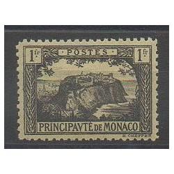 Monaco - Varieties - 1922 - Nb 60a